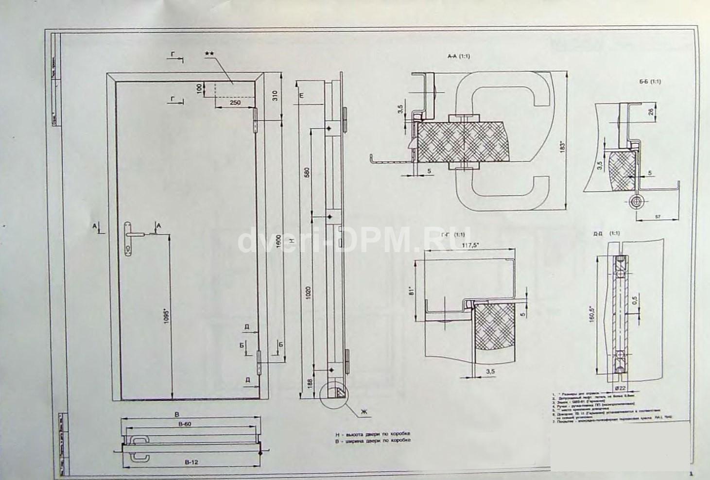 Как сделать входные металлические двери своими руками чертежи 23