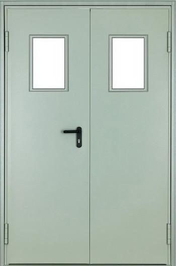 Противопожарная дверь ДПМ-02 Ei 60 (1200x2100) с остеклением