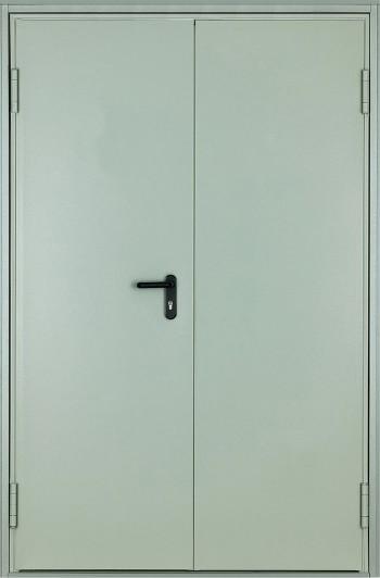 Противопожарная двупольная дверь ДПМ-02 Ei 60 (1200x2100)