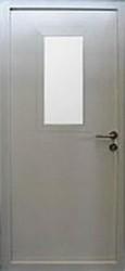 Противопожарная дверь ДПМ-01/60 (800x2100) остекленная